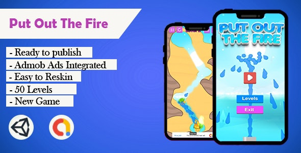 Put Out The Fire - (Unity - Admob) - CodeCanyon Item for Sale