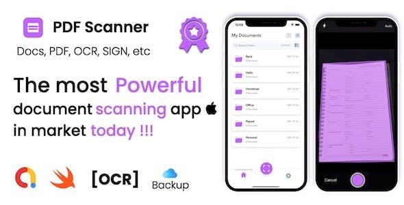 PDF Scanner - A Premium iOS document Scanner