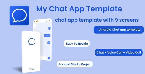 My Chat App   Chat app Template for android - CodeCanyon Item for Sale