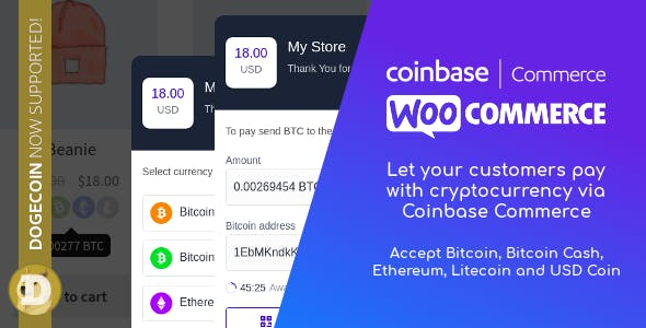 Coinbase Commerce for WooCommerce