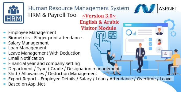 HRMS - Human Resource Management System, Manage Employee Payroll Salary ZkTeco BioMetric attendance - CodeCanyon Item for Sale