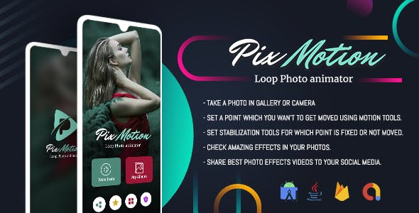 PixMotion | Photo in Motion | Loop Photo Animator & Photo Video Maker | (Android 11 Supported)