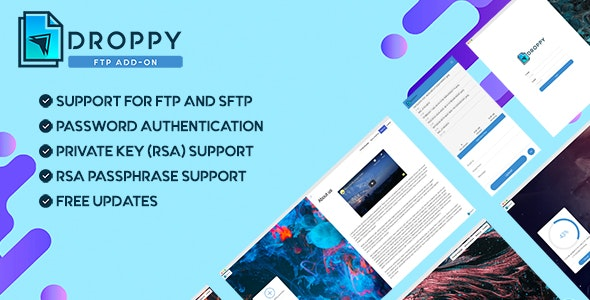 FTP - Droppy online file transfer and sharing - CodeCanyon Item for Sale