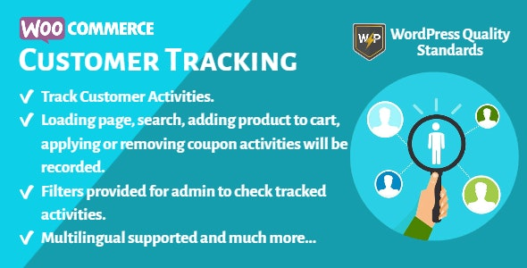 WooCommerce Customer Tracking   Record User Activities - CodeCanyon Item for Sale