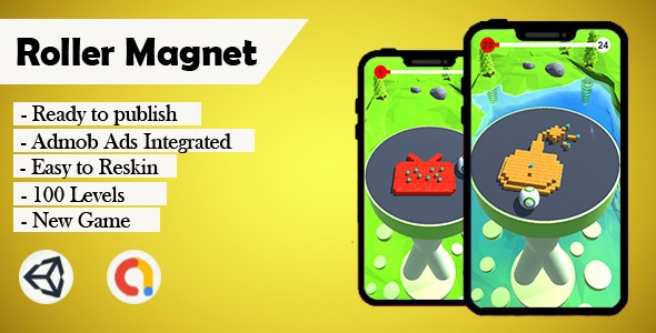 Roller Magnet - (Unity - Admob) - CodeCanyon Item for Sale