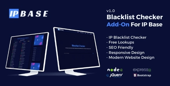 Blacklist Checker Addon for IP Base - CodeCanyon Item for Sale