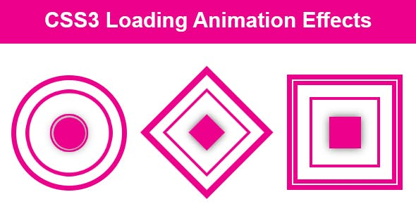 CSS3 Loading Animation Effects