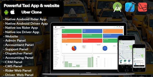 Pin Taxi - Complete Solution Taxi app - CodeCanyon Item for Sale