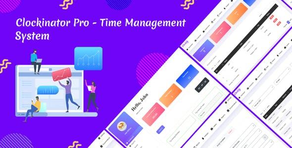 Clockinator Pro - Time Management system