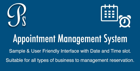 Appointment Management System - CodeCanyon Item for Sale
