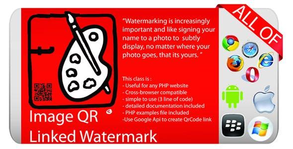 Image QR Linked Watermark