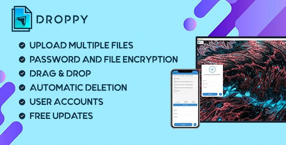 Droppy v2.3.6 – Online file transfer and sharing – nulled