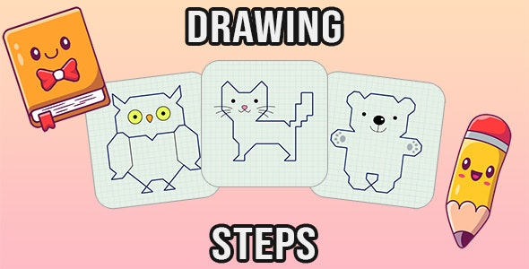 Drawing Steps (PC & Mobile) - CodeCanyon Item for Sale