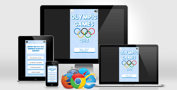 Olympic Games Quiz - HTML5 Quiz Game