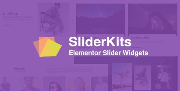 SliderKits - Advanced Elementor Slider Widgets Plugin
