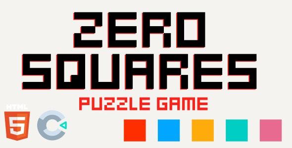 Zero Squares - Puzzle Game - HTML5 (Construct 3)