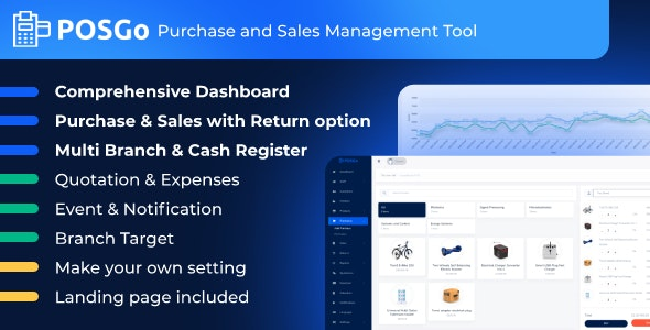 POSGo - Purchase and Sales Management Tool - CodeCanyon Item for Sale