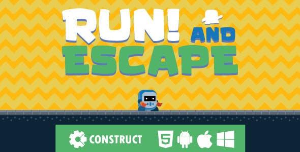 Run! and Escape - HTML5 Mobile Game