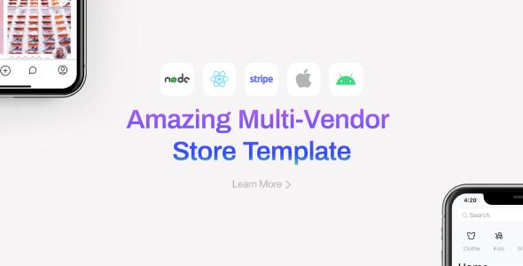 Klaar Shop - Multi-Vendor Store Template (React Native)
