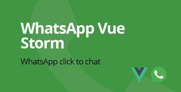 WhatsApp Vue Storm | WhatsApp click to chat