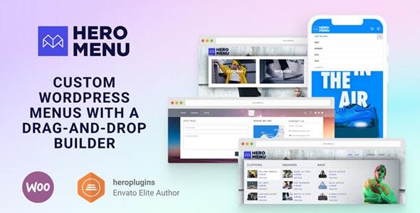 Hero Menu - Responsive WordPress Mega Menu Plugin - CodeCanyon Item for Sale