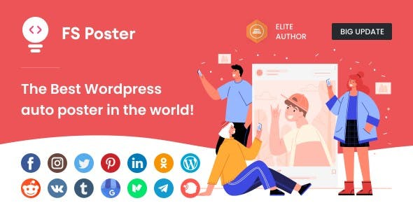 FS Poster - WordPress Social Auto Poster & Post Scheduler