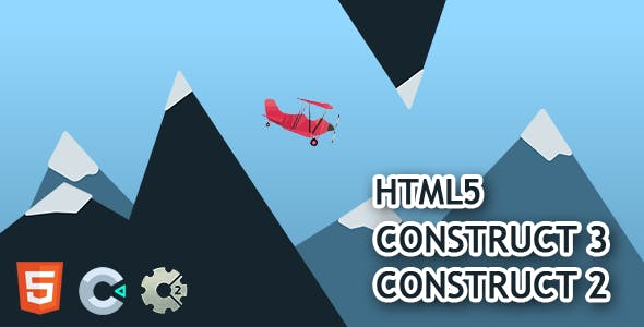 Flappy Plane HTML5 Construct 2/3