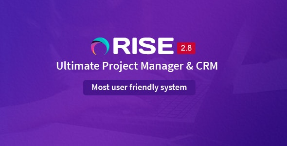 RISE v2.8 – Ultimate Project Manager & CRM – nulled