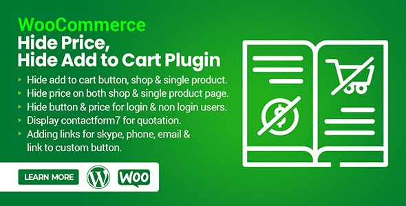 WooCommerce Hide Price, Hide Add to Cart Plugin - CodeCanyon Item for Sale
