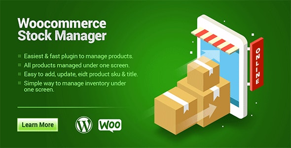 Woocommerce Product Stock Manager - CodeCanyon Item for Sale