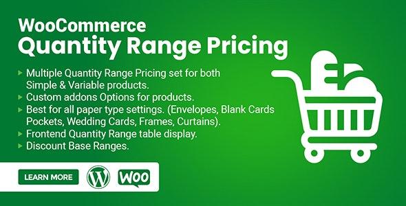 WooCommerce Quantity Range Pricing - CodeCanyon Item for Sale