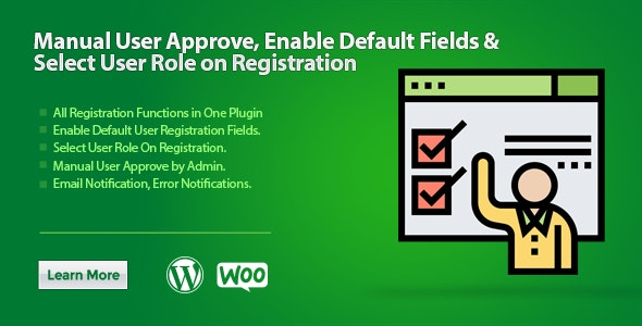 WooCommerce All in One Registration Plugin - CodeCanyon Item for Sale