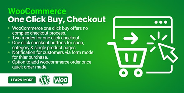 WooCommerce One Click Buy, Checkout - CodeCanyon Item for Sale