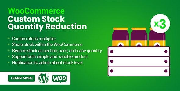 WooCommerce Custom Stock Quantity Reduction - CodeCanyon Item for Sale