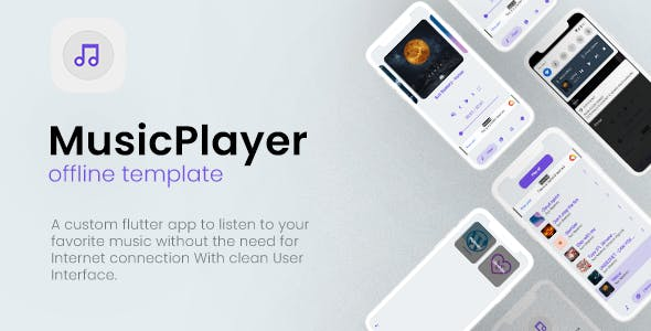 Offline Music Player  App (android)