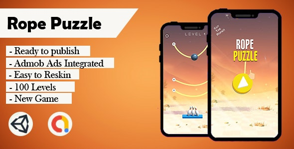 Rope Puzzle (Unity - Admob) - CodeCanyon Item for Sale