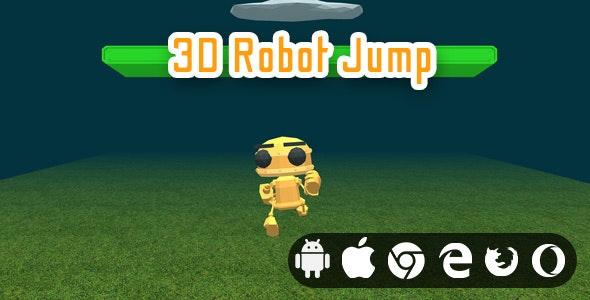 3D Robot Jump - Cross Platform Hyper Casual Game