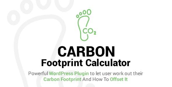 Carbon Footprint Calculator For WordPress
