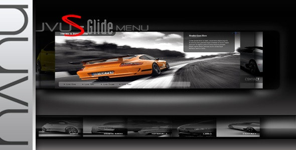 Nuvu S-Glide jQuery Menu - CodeCanyon Item for Sale