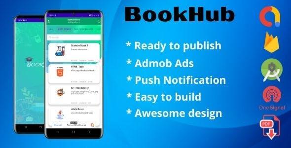 BookHub (Book App User + Admin Dashboard)