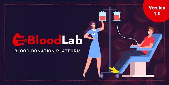 BloodLab - Blood Donation Platform - CodeCanyon Item for Sale