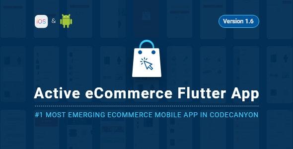 Active eCommerce Flutter App v1.6
