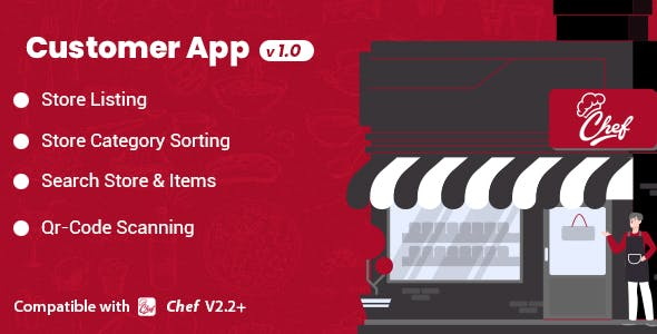 Customer App Pro Module for CHEF - SaaS - Contactless Multi-restaurant QR Menu Maker