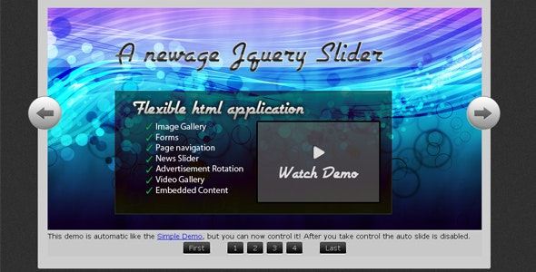 FreeSlider - Newage Jquery Slider - CodeCanyon Item for Sale