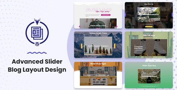 Advanced Slider Blog Layout Design - CodeCanyon Item for Sale