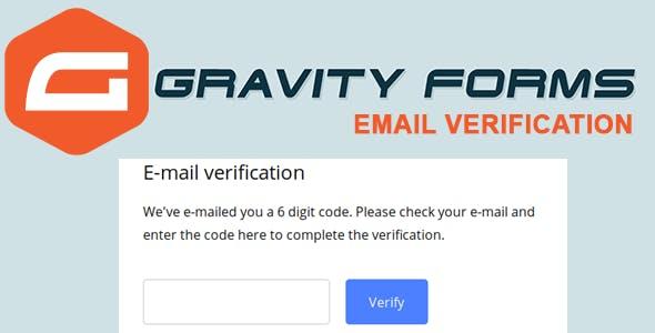 Gravity Forms Email Verification - OTP Verification