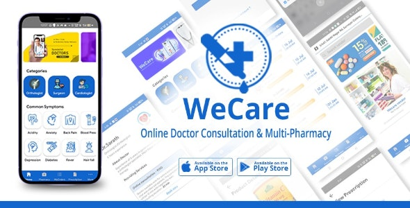 Online Doctor Consultation and Pharmacy App - CodeCanyon Item for Sale