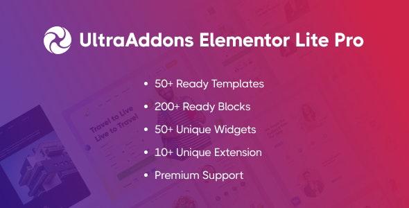 UltraAddons Elementor Lite Pro - Elementor Addons Plugin for WordPress - CodeCanyon Item for Sale