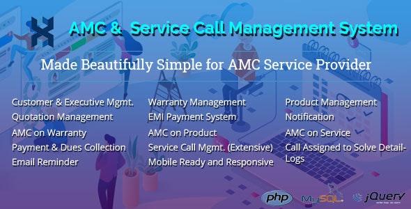 AMC and Customer Service Call Management Application v2.2