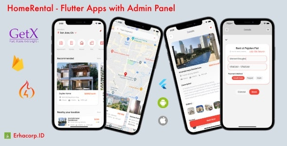 HomeRental - Flutter App with Chat & Admin Panel - CodeCanyon Item for Sale